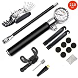 Best Bike Pump With Gauges - Mini Bike Pump with Gauge and Gloveless Puncture Review