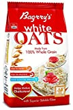 #7: Bagrry's White Oats, 1kg with free Bagrry's White Oats, 200g