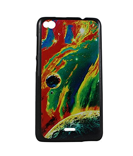 Exclusive Design Hard Back Case Cover For Gionee Elife E3 - Multicolour Paint  available at amazon for Rs.179