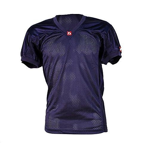 barnett FJ-2 maillot de football américain us match bleu marine XL