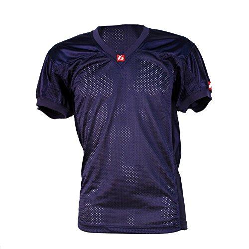 barnett-fj-2-maillot-de-football-americain-us-match-bleu-marine-xl