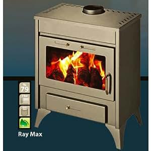 Victoria Ray Max B Poêle à bois bouilleur 13 -21 kw