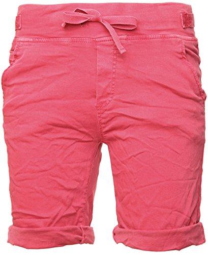 Basic.de Cotton-Stretch Bermuda-Shorts Melone S