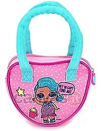 Kids LOL Surprise Bolsa Escolar, 16 cm, Rosa