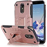 Case Compatible With LG Stylus 3, Codream Shell Design, Unique & Protective Case, Premium Shell Material, Scratch Resistant. For LG Stylus 3 - Rose Gold
