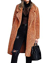 amazon cappotto marrone donna