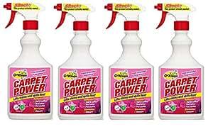 OzKleen Carpet Power Cleaner 500 ml (Pack of 4)
