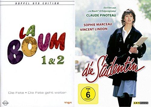Bild von Sophie Marceau Collection - LA BOUM -DIE FETE 1 & 2 Eltern unerwünscht + DIE STUDENTIN 3 DVD Edition