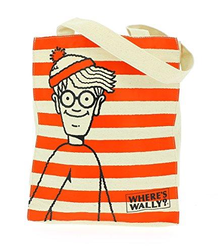 ufficiale-wheres-wally-cotone-riutilizzabile-di-tote-borsa-shopper-shopping