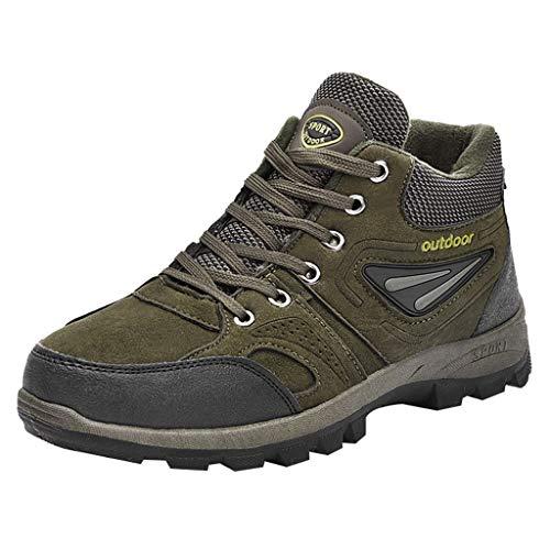 Stivali da Escursionismo Uomo, Scarpe da Uomo Inverno, Stivali Impermeabili e Resistente all'Usura por Trekking