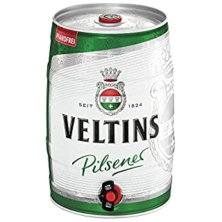 VELTINS Pilsener (1 x 5 l Partyfass)