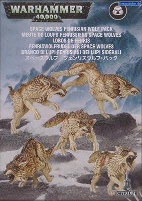 Jeux Atelier 99120101092Espace Loups Fenrisian Loup Lot Action Figure