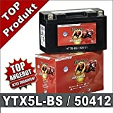 Motorrad Batterie 4Ah - YTX5L-BS - 50412 AGM GEL Banner