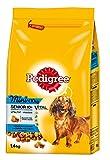 Pedigree Senior Mini Hundefutter mit Huhn, Reis und Gemüse, 6er Pack (6 x 1.4 kg)