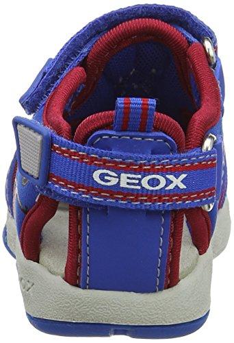Geox B Sandal Multy Boy B, Scarpe Primi Passi Bimbo Blu (ROYAL/REDC0833)