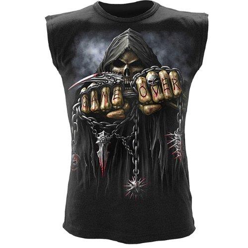 Spiral für Herren 'Game Over' Ohne Shirt Schwarz Größe M - XL Schwarz
