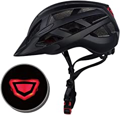 Outgeek Bike Helmet Adjustable Sports Helmet Cycling Helmet Bicycle Helmet with Light