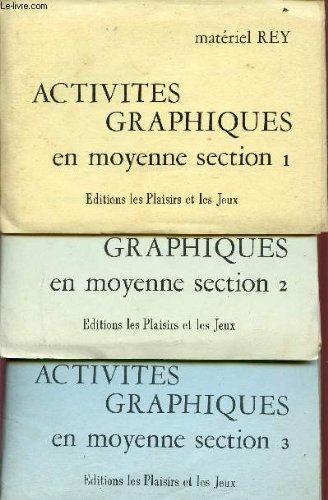 ACTIVITES GRAPHIQUES EN MOYENNE SECTION 1 + 2 + 3 / MATERIEL REY.