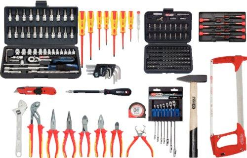 KS Tools Premium Max Elektriker-Werkzeugkoffer, 195-teilig, 117.0195