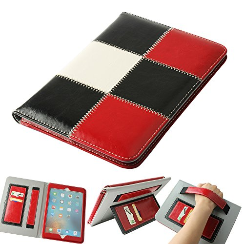 lively-life-ipad-air-2-case-vintage-chequerboard-pu-leather-smart-case-cover-with-flip-stand-and-aut