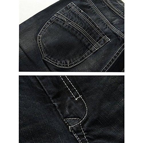 Bold Manner Herren Jeanshose Style 8-Black