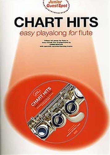 Junior Guest Spot: Chart Hits - Easy Playalong (Flute). Partitions, CD pour Flûte Traversière