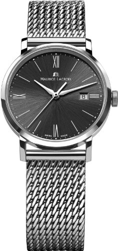 Maurice Lacroix 13039–Montre pour femmes, bracelet en acier inoxydable couleur argent