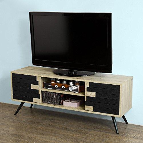 SoBuy® Mobile porta TV,Armadietto soggiorno,TV Supporto, Comodino,FRG144,IT