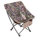 Chaise pliante JXM en Plein air Portable Chaise Papillon Retour Pêche Chaise Barbecue Plage Tabouret Sketch Chaise Moon Chaise Chaise paresseuse