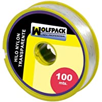 Wolfpack 16010355 Hilo Nylon Transparente 0.7 mm. Rollo 100 m.