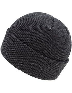 Fiebig Sombrero De Punto Para Niños Gorro Invierno Beanie Térmico Aislante Un Color (FI-45547-W17-JU2) incl. EveryHead-Hutfibel