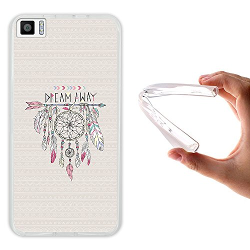 Bq Aquaris M5.5 Hülle, WoowCase Handyhülle Silikon für [ Bq Aquaris M5.5 ] Träumfänger Handytasche Handy Cover Case Schutzhülle Flexible TPU - Transparent