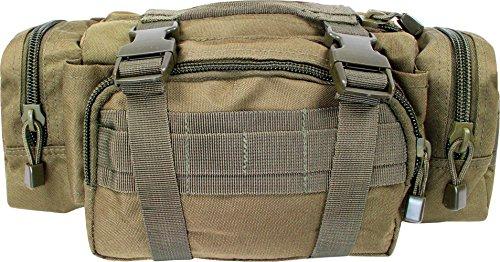 Gürteltasche Hüfttasche mit Molle-Aufnahme-System Coyote