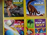 National Geographic Kids Book of Animals, Dinosaurs, Space, & Why (Assorted)