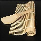 Prodotto desciption: Colore: come immagineDimensioni del prodotto: tappeto Bamboo Lunghezza * Larghezza 24* 23cm, cucchiaio Lunghezza * Larghezza 13.5* 5cmMateriale principale: bambùIl nostro pacchetto: 1Set