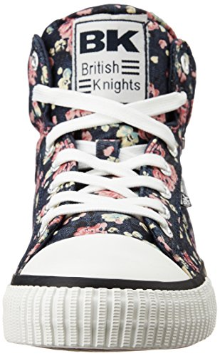 British Knights Dee, Baskets Basses Mixte Enfant MARINE/ROSE