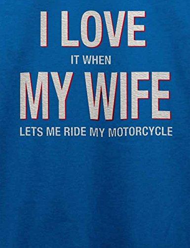 I Love My Wife Herren T-Shirt Royal Blau