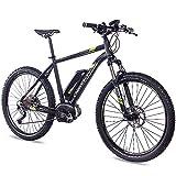 27,5 Zoll E-BIKE Mountainbike Pedelec Elektrofahrrad CHRISSON E-MOUNTER 1.0 BOSCH PLINE & ACERA 3000 schwarz 48 cm