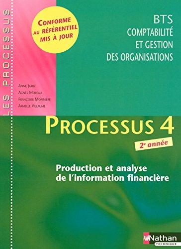 Processus 4 - Production et analyse de l'information financière - BTS CGO 2e année par Armelle Villaume