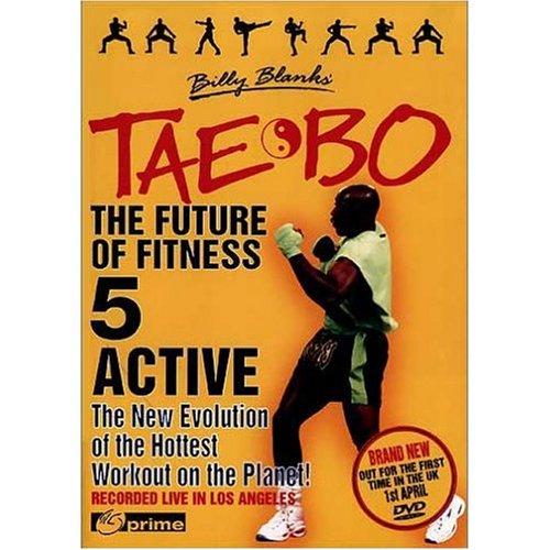 TAE BO Vol. 4 Abs & Glutes / Vol. 5 Active (2-DVD-Set) (Tae Bo-dvd-set)
