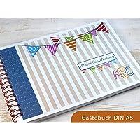 Gästebuch DIN A5 für Einschulung Schulanfang