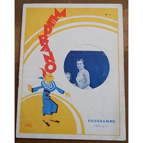Programme du Cirque Médrano n°11