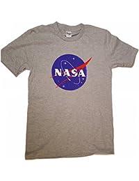 Logotipo licenciado de la albóndiga de la NASA Camiseta para hombre Premium (Impresión de la