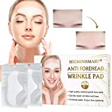 Forehead Wrinkle Patches, Anti-Wrinkle Pads, Facial Wrinkle Patches, Anti Face Wrinkle Pads, Overnight Smoothing Forehead Wrinkle Resistant Masks Pads for Men and Women, Removes Brow Wrinkles, 10 PCS