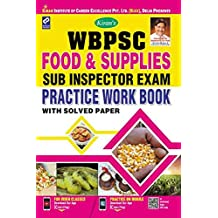 Kiran's WBPSC Food & Supplies Sub Inspector Exam Practice Work Book English - 2323