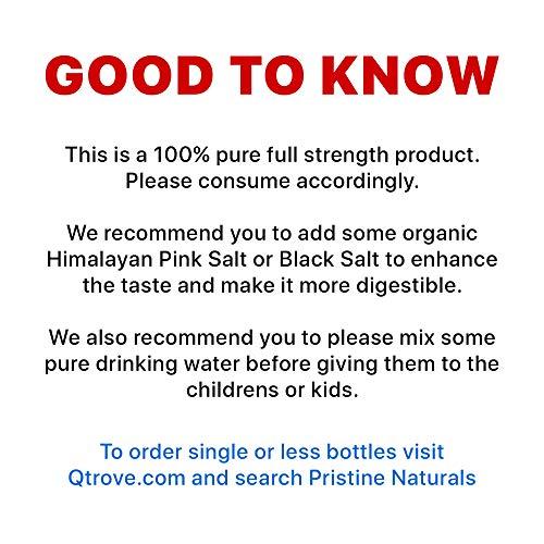 Pristine Naturals 100% Pure Pomegranate Juice, Guaranteed (500ml x 5)