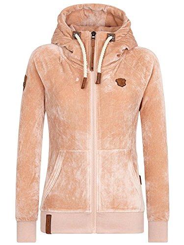 Naketano Female Zipped Jacket Brazzo Mack IV Dusty Pink