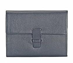 Adamis Black Leather Credit Card Case Holder