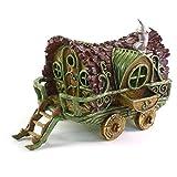 Fiddlehead Gartendeko Miniatur-Wohnwagen