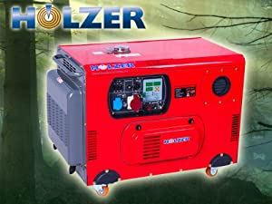 holzer stromerzeuger 15kva 400v diesel hz15000lta3 gebraucht second hand generator g nstig. Black Bedroom Furniture Sets. Home Design Ideas